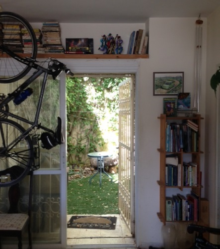 books, bicycle and garden bits of inspiration